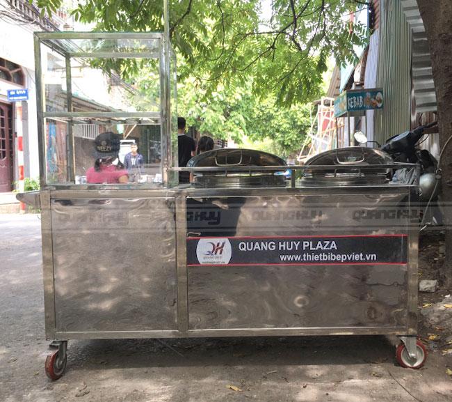 Đặt thiết kế xe bán phở theo yêu cầu bền đẹp tại Quang Huy