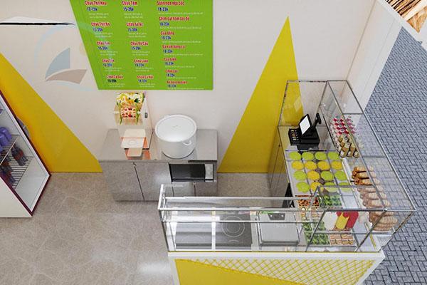 Tủ bán cháo dinh dưỡng giúp quán cháo chuyên nghiệp hơn