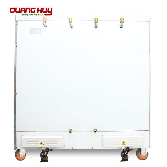 Tủ nấu cơm công nghiệp 24 khay điện thiết kế 4 van xả áp