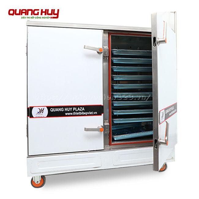 Tủ nấu cơm công nghiệp 24 khay điện đa năng sử dụng, nấu hấp thực phẩm