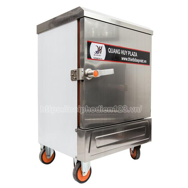 Tủ cơm điện 6 khay công nghiệp giải pháp nấu cơm nhiều hơn, ngon hơn