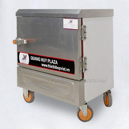 Tủ hấp cơm điện 4 khay công nghiệp cho quán ăn, nhà hàng, gia đình