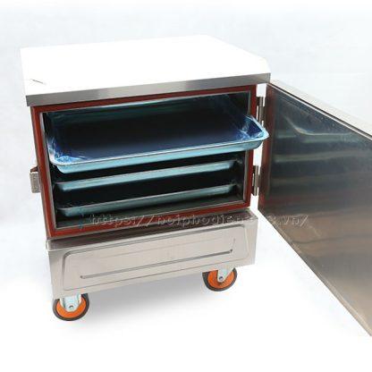 Tủ nấu cơm 4 khay công nghiệp bằng điện