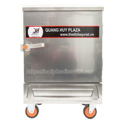 Tủ điện hấp cơm 6 khay Quang Huy mang tới giải pháp tối ưu cho quán cơm