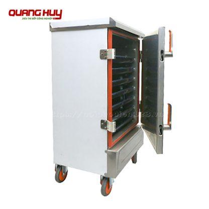 Tủ nấu cơm 8 khay công nghiệp Quang Huy