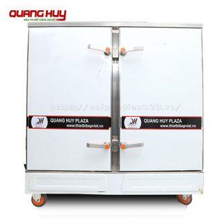 Tủ nấu cơm công nghiệp 24 khay bằng điện Quang Huy
