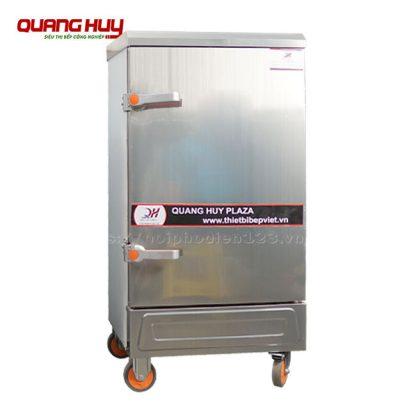 Tủ nấu cơm công nghiệp bằng điện 8 khay Quang Huy