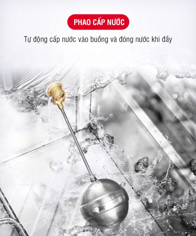 Van phao cấp nước tự động bơm nước và ngắt nước