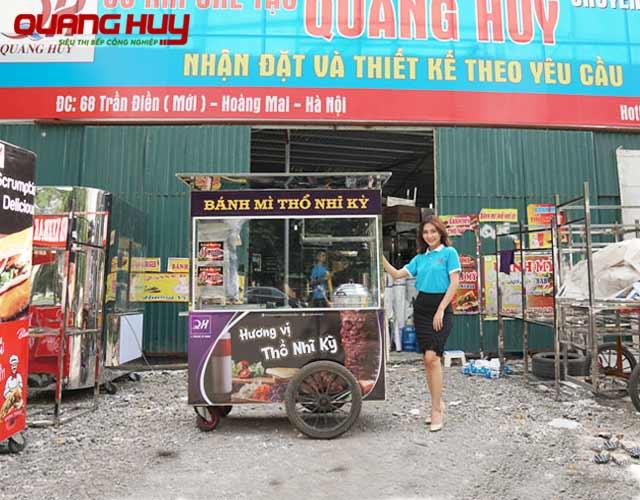 Xe xôi bánh mì Thổ Nhĩ Kỳ Quang Huy - Lựa chọn số 1 của khách hàng trên Toàn quốc