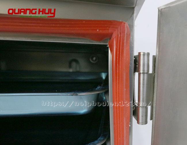 Gioăng silicon viền tủ nấu cơm công nghiệp giữ nhiệt tối đa