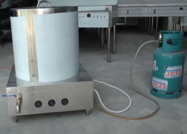 Nồi nấu phở bằng gas Inox bền