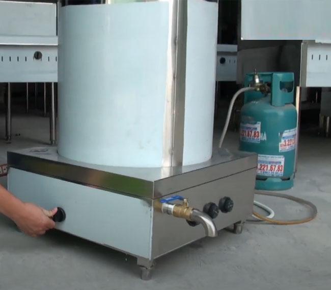 Ưu điểm và hạn chế lắp đặt nồi nấu phở bằng gas
