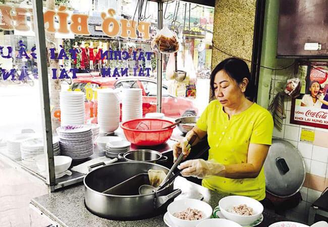 Thiết kế bếp nấu phở tiện lợi cho việc nấu nướng và làm phở phục vụ khách