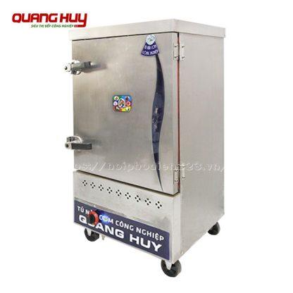Tủ cơm công nghiệp gas 6 khay Quang Huy