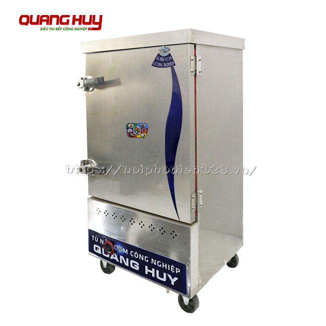 Tủ hấp cơm công nghiệp 8 khay bằng gas
