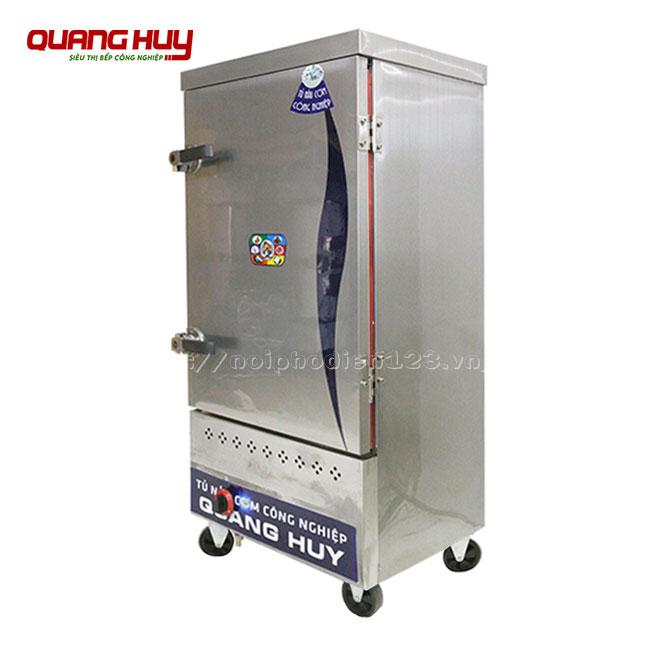 Tủ nấu cơm gas 10 khay tiện dụng, đa năng