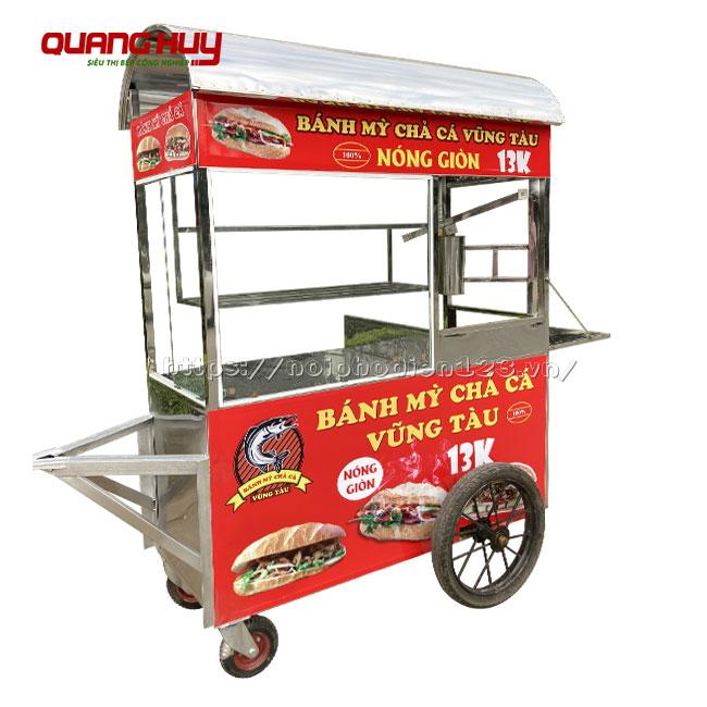 Mẫu xe đẩy bán bánh mì chả cá nóng giá rẻ, xe bánh mì chả cá, xe bán bánh mì chả cá, xe bánh mì chả cá nóng, bán xe bánh mì chả cá giá rẻ, xe bánh mì chả cá giá bao nhiêu, mua xe bán bánh mì chả cá cũ, xe bánh mì chả cá cũ