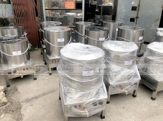 Xưởng sản xuất và phân phối nồi phở điện Quang Huy