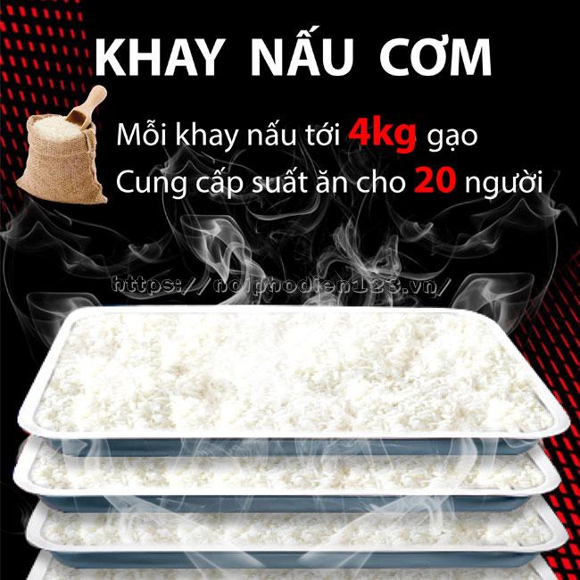 Khay đựng cơm, thực phẩm Inox 304