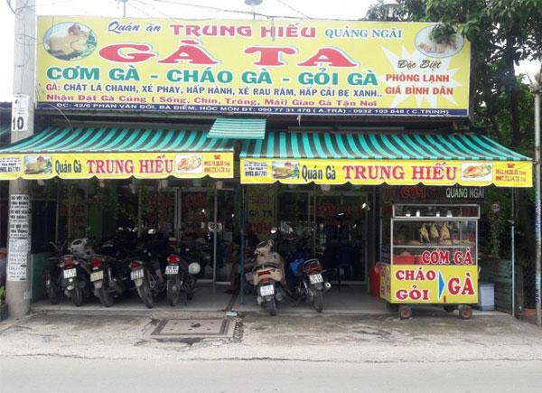 Lựa chọn địa điểm mở quán cháo gà