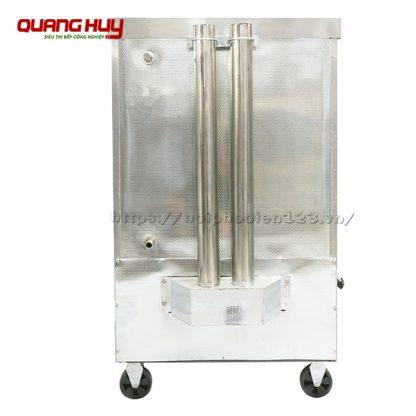 Ống xả áp suất phía sau tủ cơm công nghiệp