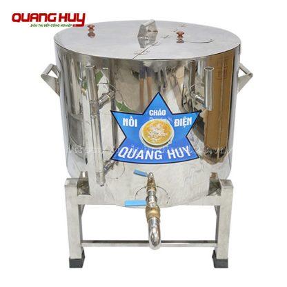 Nồi nấu cháo điện công nghiệp Inox 304 nấu cháo nhanh nhừ, nấu nhiều hơn