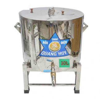 Nồi nấu cháo công nghiệp 30 lít Quang Huy
