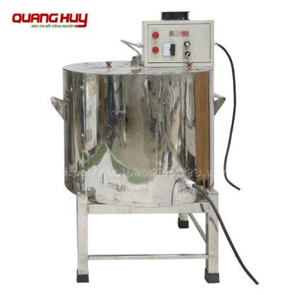 Nồi nấu cháo Inox điện công nghiệp Quang Huy sản xuất tại xưởng