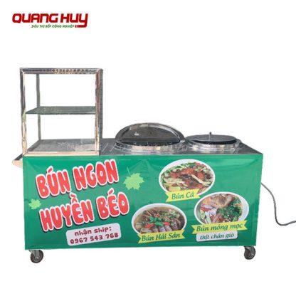 Tủ bán bún hải sản, bún cá Quang Huy