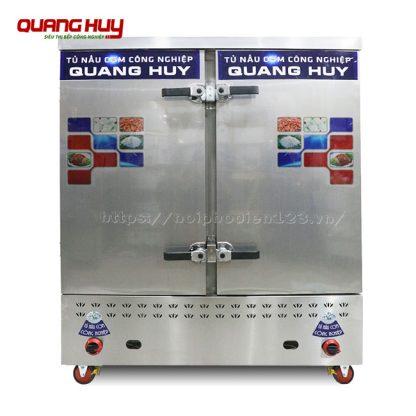 Tủ nấu cơm 24 khay điện công nghiệp Quang Huy