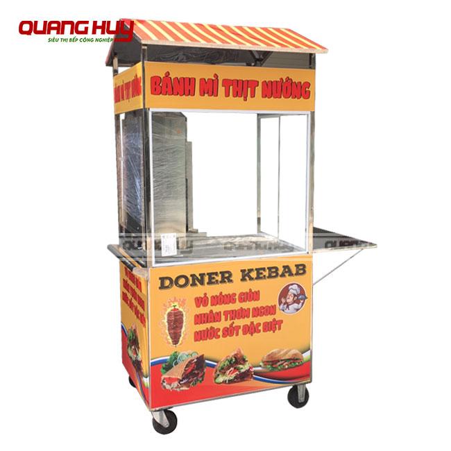 Xe bánh mì thịt nướng Doner Kebab loại nhỏ