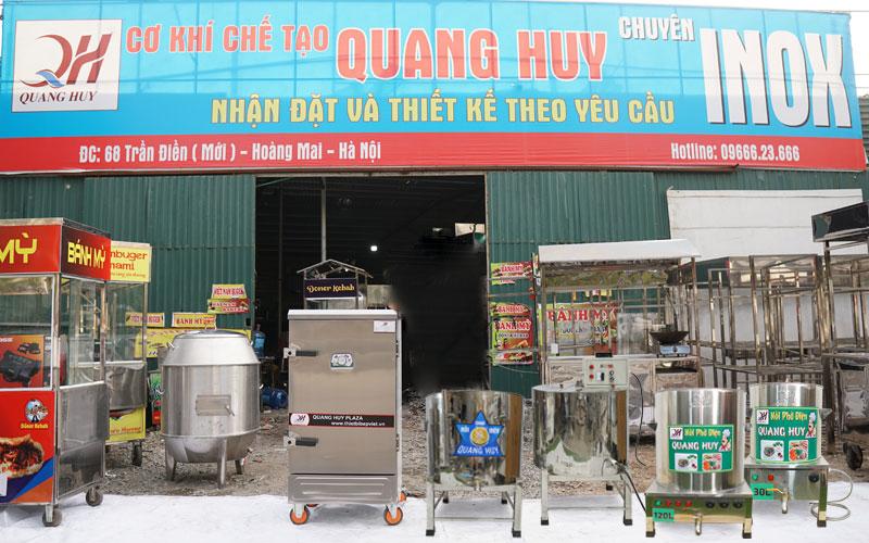 Xưởng cơ khí sản xuất thiết bị nhà bếp Quang Huy