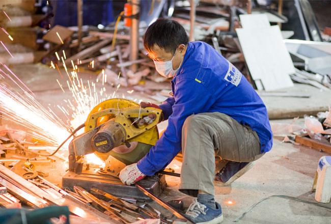Gia công Inox tại xưởng chuyên cơ khí
