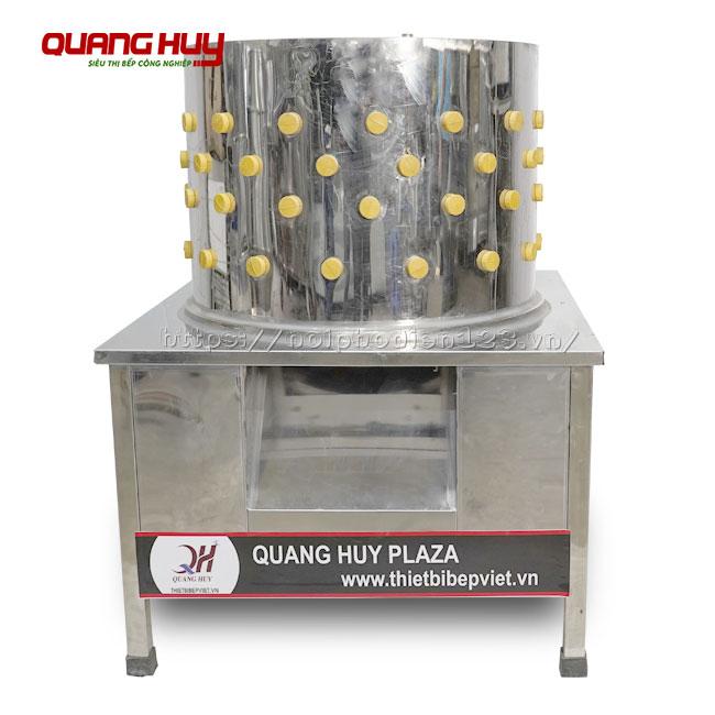 Máy nhổ lông gà lông vịt Quang Huy, Inox 304 bền đẹp