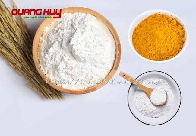 Nguyên liệu làm sợi mì Quảng