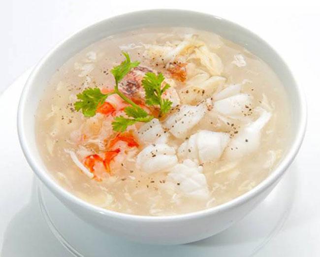 Súp cua tôm thịt hải sản ngon - Món ăn giàu dinh dưỡng được nhiều người yêu thích