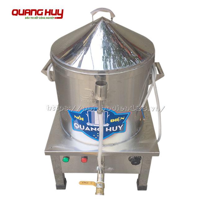 Nồi hấp cơm tấm công nghiệp Quang Huy