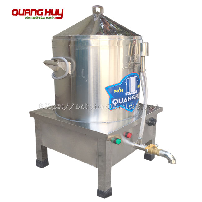 Nồi hấp điện Quang Huy đa năng, nấu hấp nhiều loại thực phẩm