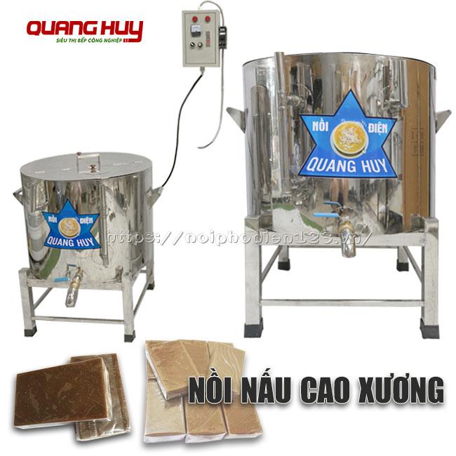 Nồi nấu cao xương bằng điện Quang Huy