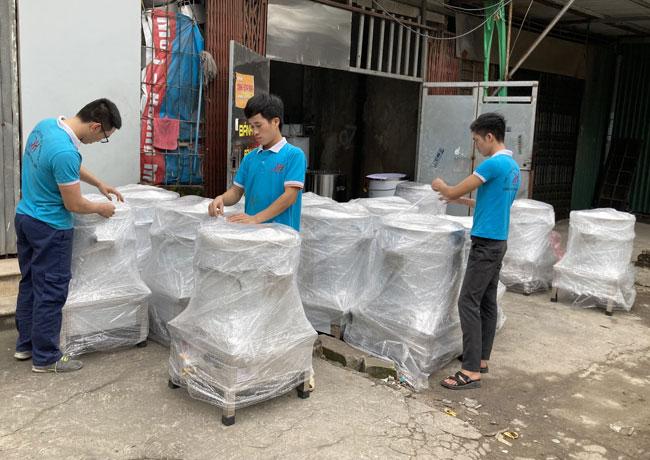 Xưởng nồi phở điện gia công Quang Huy