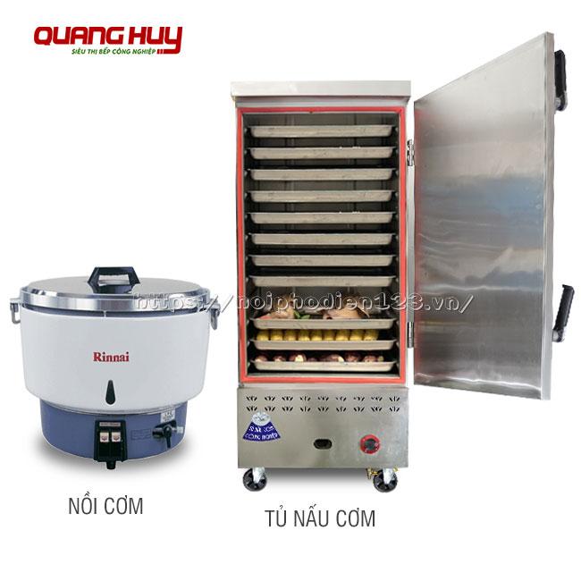 Nên lựa chọn tủ hay nồi nấu cơm công nghiệp?