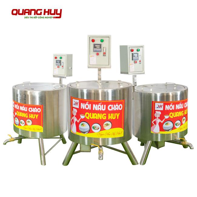 Nồi nấu cháo bằng điện Quang Huy Inox 304 bền đẹp