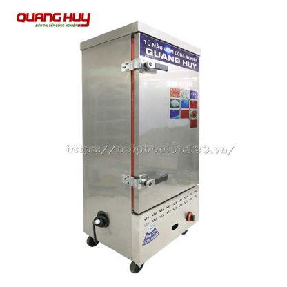 Tủ nấu cơm 10 khay bằng gas điện chuyên nghiệp cho khu bếp nấu