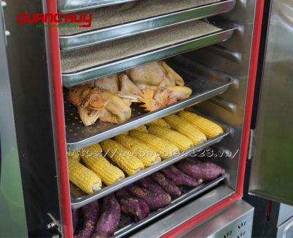 Tủ hấp cơm, gà vịt, khoai lang