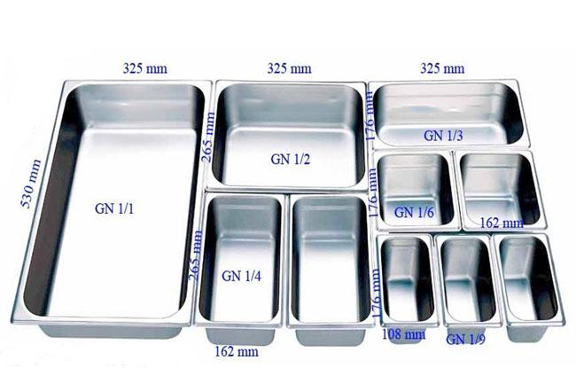 Khay đựng thức ăn Inox 304 không gỉ