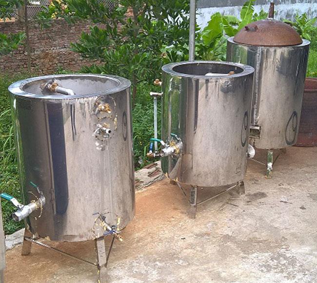Thanh lý nồi nấu rượu cũ giá rẻ