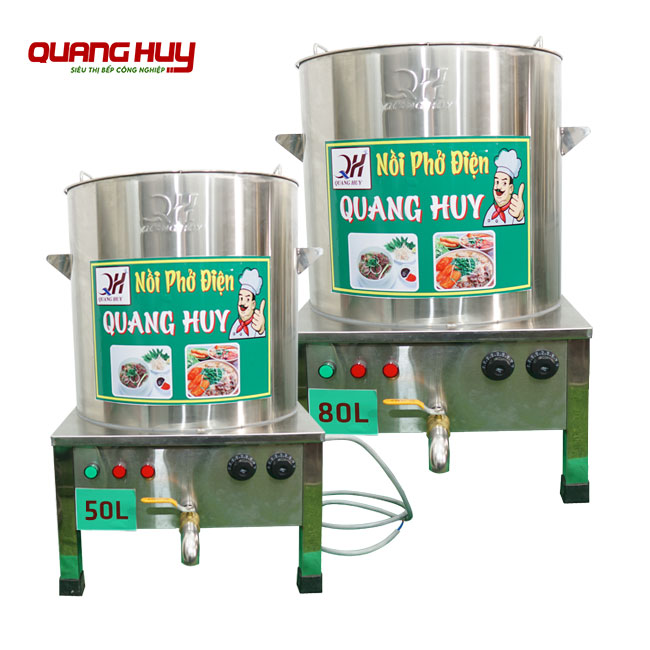 Bếp điện nấu phở bằng điện Quang Huy giá bao nhiêu?