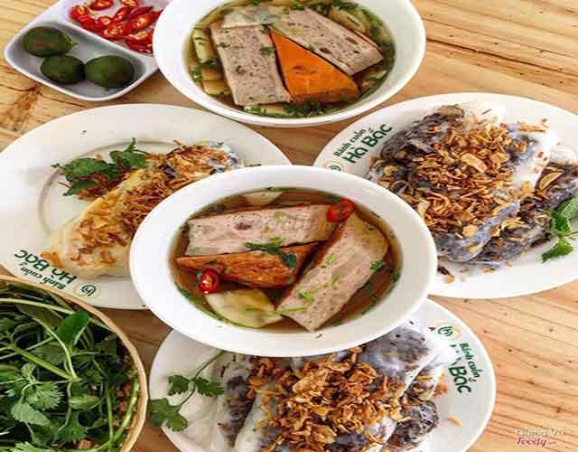 Món bánh cuốn đặc sản Bắc Giang