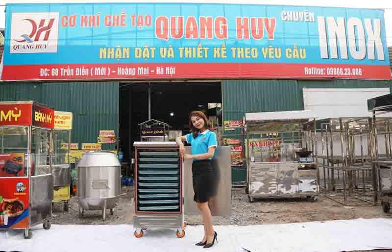 Quang Huy giao tủ nấu cơm Toàn quốc giá rẻ nhất thị trường