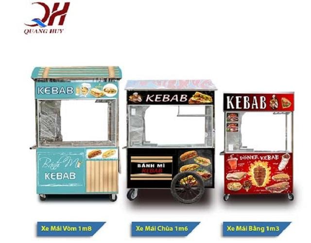 Các dòng xe bánh mì với kiểu dáng và thiết kế đa dạng